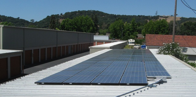 Napa Self Storage Solar